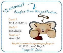 Tarjetas De Invitacion De Primer Anito Para Imprimir Imagui