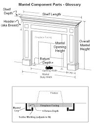 wood fireplace mantels forestdale