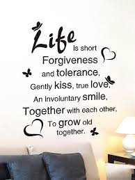 Buy Wall Sticker Modern Design Letters Forgiveness Room Decor Sticker Wall Stickers At Jolly Chic