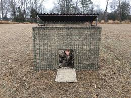 diy portable hunting blind built with