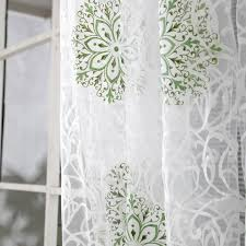 2020 Floral Tulle Window Screening Curtain Drape Panel Decal Scarf Curd Valances Curtains 95cm X 200cm From Adeir 21 4 Dhgate Com