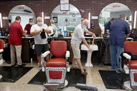 salons and barbers are reopening