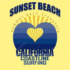 California sunset Stock Vectors, Royalty Free California sunset Illustrations   Depositphotos®