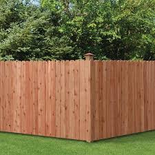 4 Ft H X 8 Ft W Pressure Treated Spruce Dog Ear Fence Panel In The Wood Fence Panels Department At Lowes Com