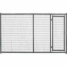 Tarter Farm And Ranch Equipment 6 Ft X 10 Ft Heavy Duty Dog Kennel Front Panel Gray At Tractor Supply Co