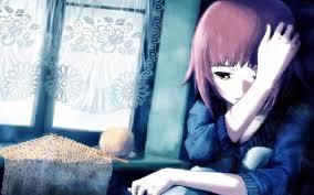 بنات كارتون حزينه جدا صور انيمشن حزينة للبنات رهيبه