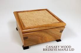 purple heart hardwood jewelry box