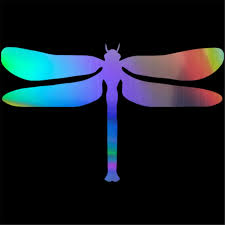 Dragonfly Car Sticker Window Bumper Vinyl Laptop Wall Motorbike Door Truck Decal Car Stickers Aliexpress