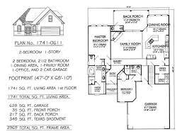 2 bedrooms single lot