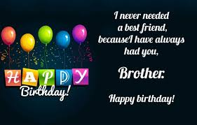 amazing birthday wishes for brother pictures