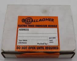 Gallagher Electric Fence Energizer Module Trucking Company Ag Sales Closing K Bid