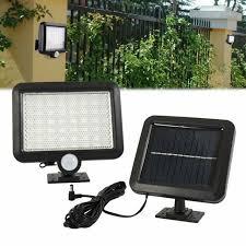 solar powered pir motion sensor outdoor
