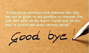 good bye quote org
