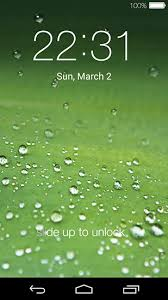 lock screen live wallpaper for android