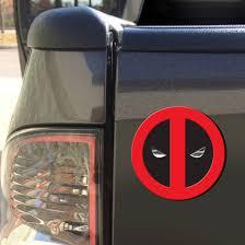 Chroma Deadpool Injection Molded Emblem Decal By Chroma At Fleet Farm