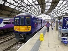 Northern Rail 319374. 1H44 1814 Liverpool - Manchester Air…