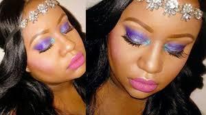 sea siren spring inspired makeup