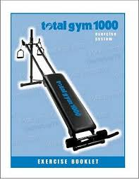 total gym exercise manual booklet for