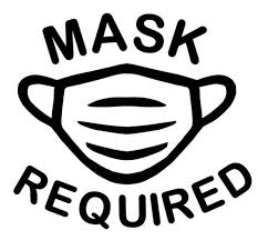 Required Mask Decal For Small Business Windows Or Uber Lyft Etsy