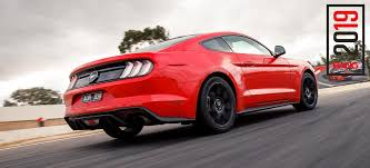 2019 ford mustang ecoboost track review