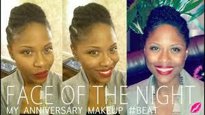 slight anniversary face beat makeup