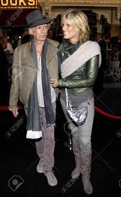 Keith Richards And Patti Hansen At The Los Angeles Premiere Of ...