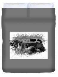 Bodie Duvet Cover for Sale by Carlene Smith