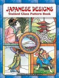japanese designs stained glass pattern