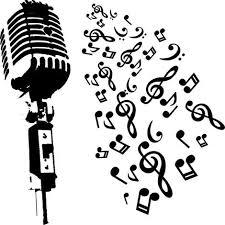 Resultado de imagen de microfono dibujo | Notas musicales