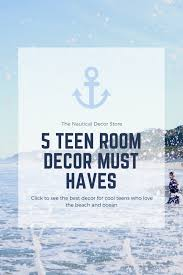 Teen Room Decor For Kids Who Love The Beach Ocean The Nautical Decor Store