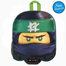 3D Lego Ninjago Backpack - Featuring Lloyd #gettrend ...
