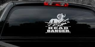 Big Horn Shee Decal Titled Head Banger By Upstream Images Upstream Images
