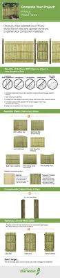 6x8 Wood Fence Panels Procura Home Blog
