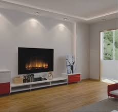 russia wall mounted electric fireplace