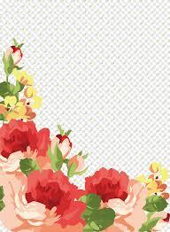 وردة الشاطئ لوحة مائية إقليدي وردة روز الخلفية المادية