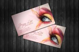 sles of makeup artist business cards