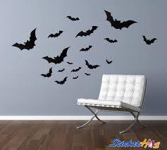 Bats Vinyl Wall Decal Graphics Home Decor Halloween