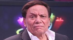 صورة عادل إمام يبكي على إنهيار منتخب مصر