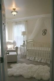 Keep a nursery/baby room classic & simple - love this chic all white one!  (With images) | Vintage baby girl nursery, Nursery baby room, Baby room  decor