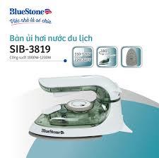 Bàn ủi hơi nước du lịch mini BlueStone SIB-3819 - Hàng Chính Hãng