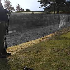 Wind Protection 60 Windbreak Fencing High Strength Windbreak Plastic Mesh