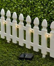 Flexible White Picket Fence Garden Border 4pcs For Sale Online Ebay