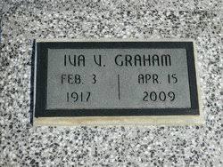 Iva V Bishop Graham (1917-2009) - Find A Grave Memorial