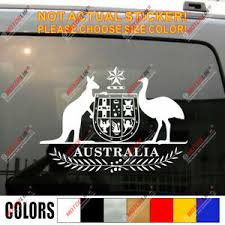 Coat Of Arms Of Australia Australian Car Sticker Decal Ebay