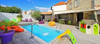 location avec piscine privative
