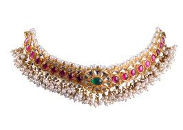 n 5097 kerala antique gold necklace