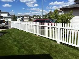 Vinyl Fencing In Western Canada