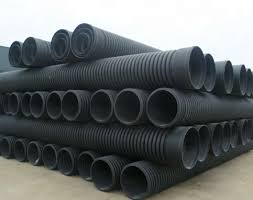 corrugated plastic hdpe corrugated pipe