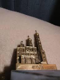 Rare Bronze Ivan Bell Tower Moscow Russia souvenir building replica  architecture   #1894729470