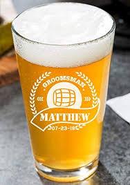 custom beer mug pint glass